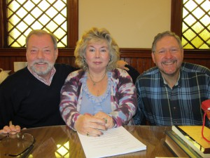 Kevin Symmons, Arlene Kay, David Litwack honored for their break through novels.iting Contracts